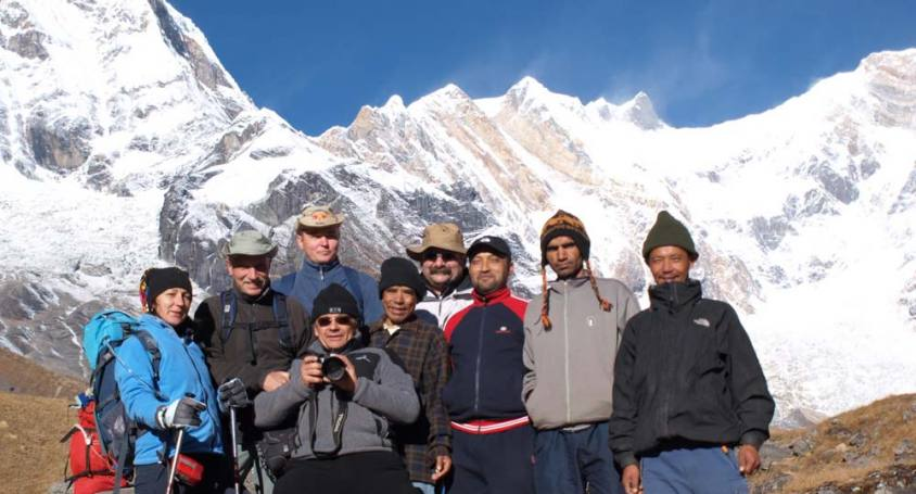 Annapurna Base Camp PKR to PKR Trek