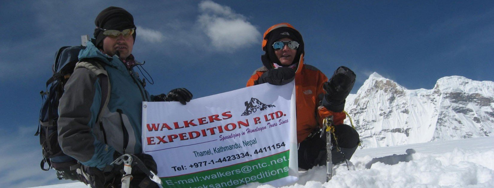 Expedition in Nepal with Walkers